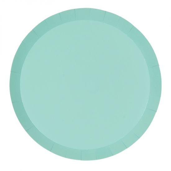 Pastel Mint Green Plate Large