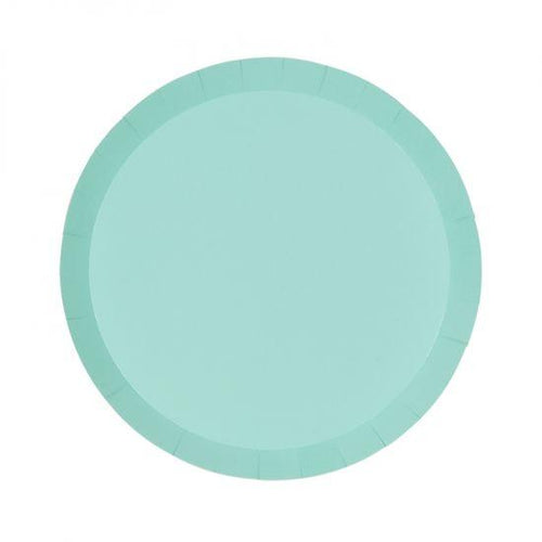 Pastel Mint Green Plate Small