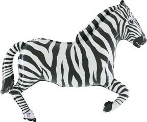Zebra Shape Foil Balloon