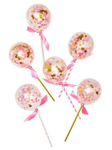 Balloon Pops Pink Shimmer