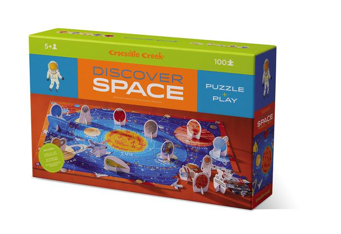 Puzzle & Play 100 Piece Discover Space