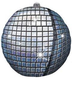 Holographic Disco Ball Foil Balloon