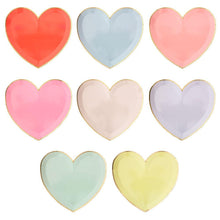 Load image into Gallery viewer, Pastel Hearts Plate Large