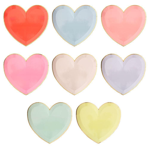 Pastel Hearts Plate Large