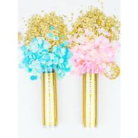 Load image into Gallery viewer, Gender Reveal Confetti Tube - It's A Boy