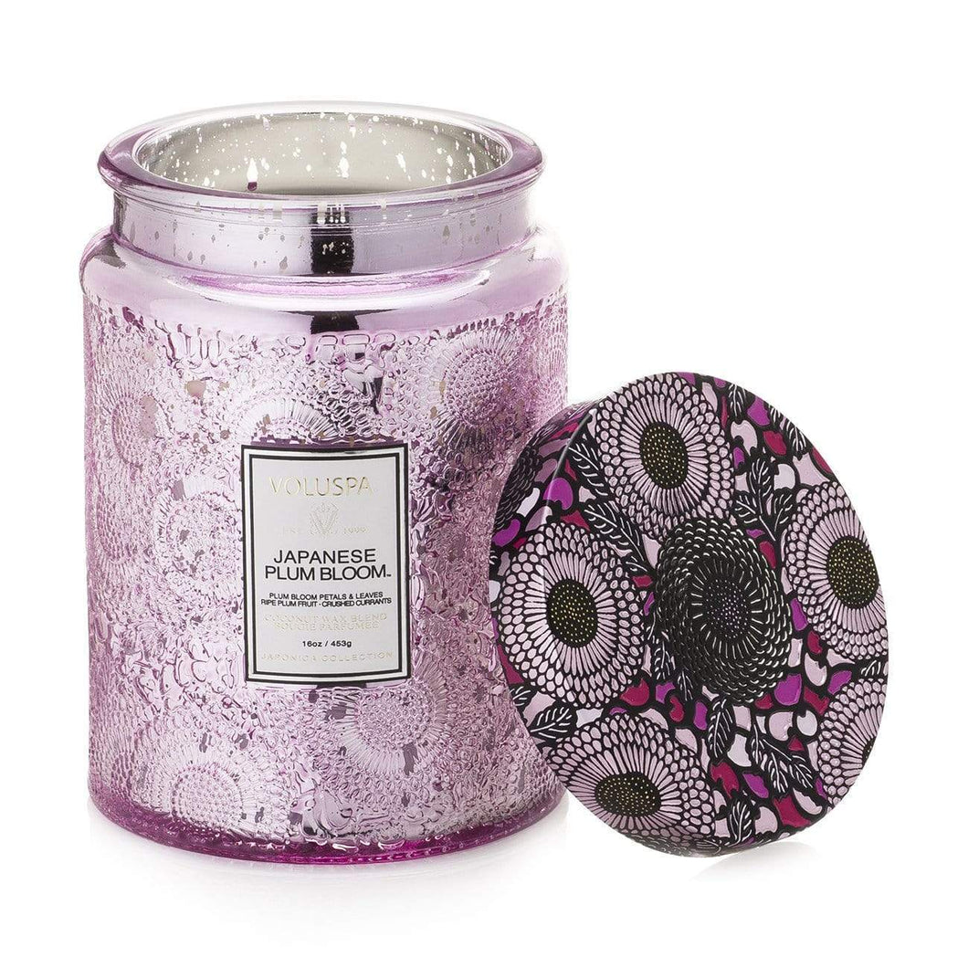 VOLUSPA JAPANESE PLUM BLOOM 100HR CANDLE