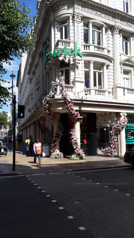 Fenwick on Bond Street blooming