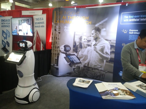A review of Robotics at NRF 2019