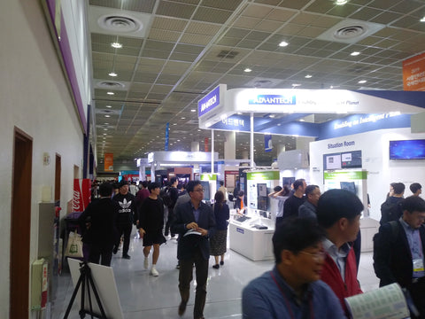 A review of IoT Week, COEX Trade Centre, Seoul, South Korea