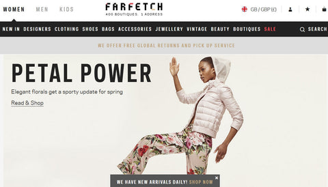 Farfetch raises $110million
