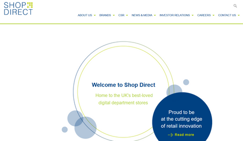 What is happening at Shop Direct?