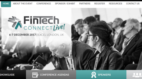 Show Review: FinTech Connect Live, Excel, London, UK. Dec 6-7, 2017