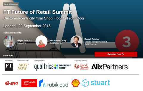 A review of the FT Future of Retail event by Financial Times