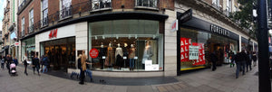 Some Oxford Street Store Fronts Oct-16