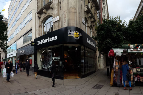 Dr Martens Shopfront Oxford Street October 2016