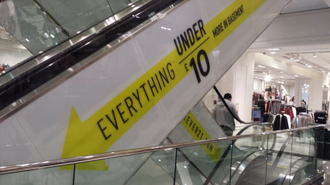 Forever21 Store Interior Oxford Street October 2016