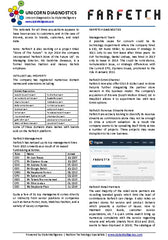 Unicorn Diagnostics Page Three Farfetch.com