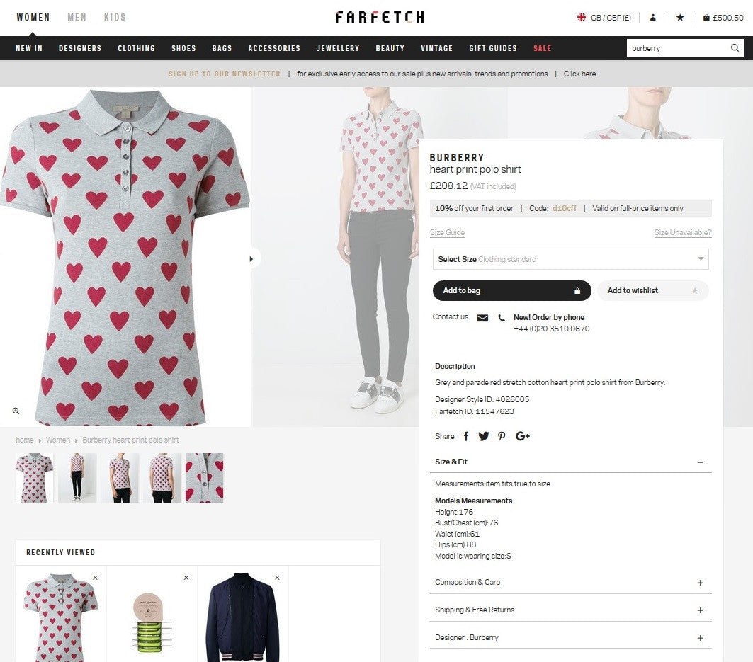 Farfetch.com: Unicorn Diagnostics, Nov 2016 - Styleintelligence - Report