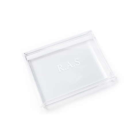 Timeless Keepsake Box ~ Classic Monogram