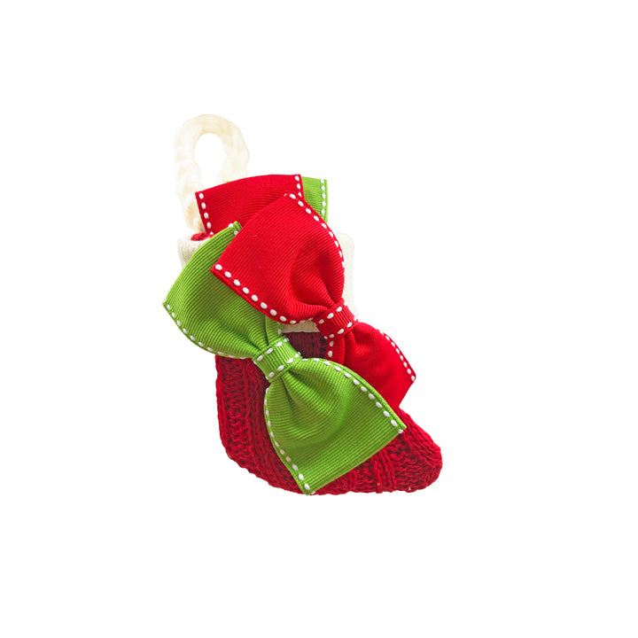 Little Bow Stocking ~ Christmas