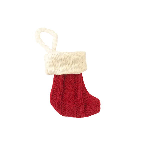 Little Bow Stocking ~ Preppy