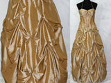 Excite By Impressions Gold A- Line Process Ball Gown (6)