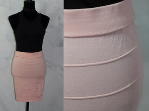 Say What Pink Pencil Skirt (L)