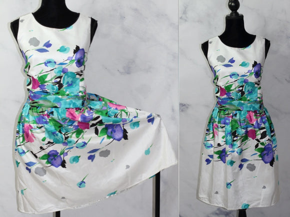Tiana B Multi Color Floral Dress (16)