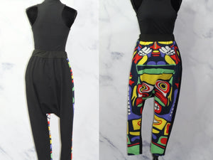 Multi Color Baggy Pants (S-M)
