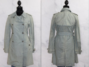 Polo Jean - Ralph Lauren Denim Trench Coat (S)