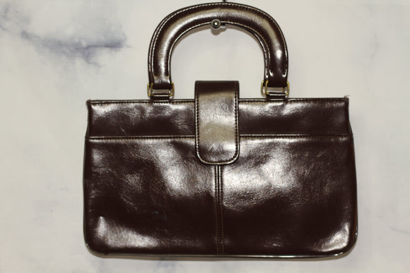 Leather Burgundy Doctors Handbag