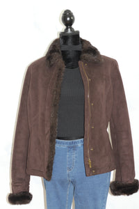 Ann Taylor Brown Coat (M)
