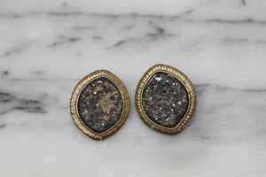 Granite Gold Earrings