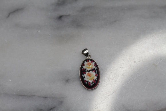 Floral Multi Color Pendant