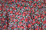 Pink by Victoria Secret Red Base Floral Cotton Skirt (S)