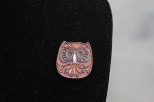 Lucky You Owl Brooch