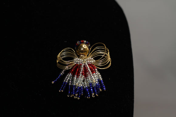 Colorful Angel Brooch