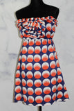 Judith March Silk Multi Color Halter Dress *New with Tags (6)