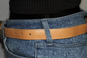 Tan Genuine Leather Belt (33)
