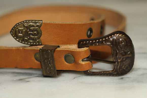 Camel Leather Belt