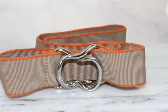 GAP Brown & Orange Stretch Belt