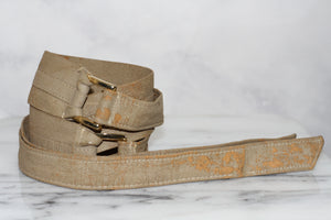 Leather Camel Tan Belt