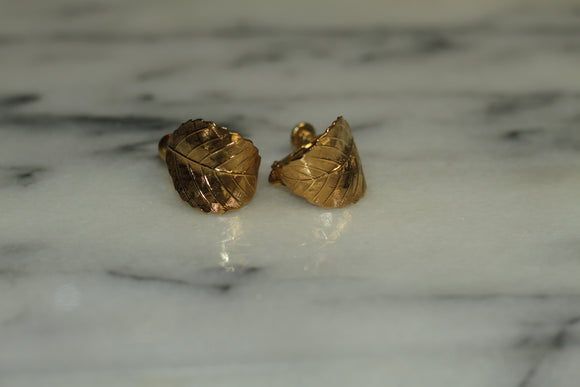 Napier Leaf Earrings