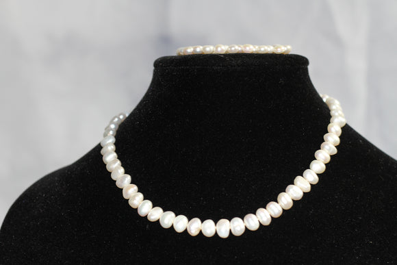 Fresh Water Pearl Bracelet Necklace