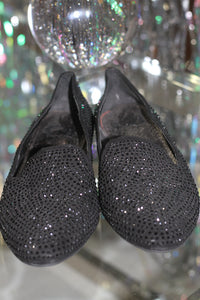 Gianni Bini Black Studded Flat Shoes (5 1/2) *Excellent Condition