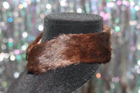 Brown Mink Collar