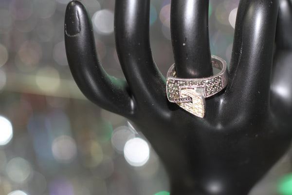 1950's Rodgers A1 Silver Spoon Belt Ring
