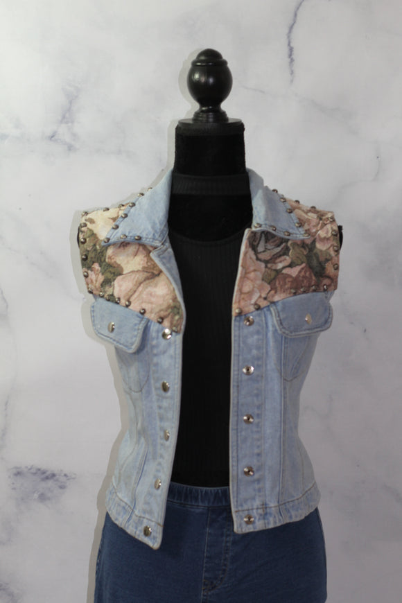Silver River Denim Vest (XL)