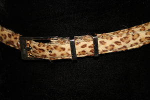Annabella Haircalf Leopard Belt