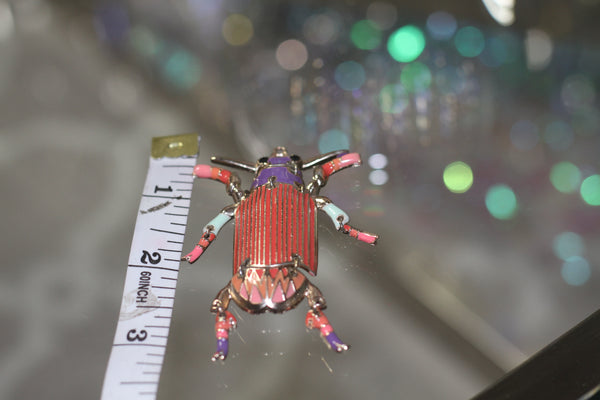 90's Bug with Moveable Limbs Pendant